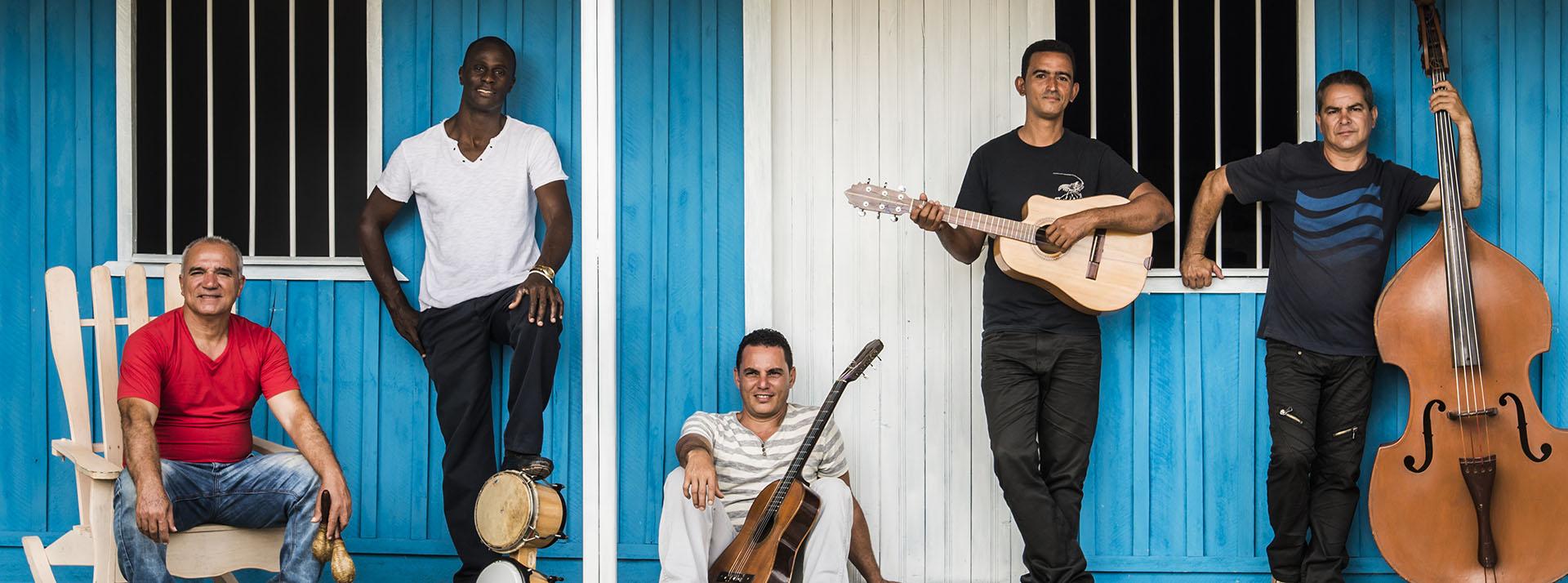 Die Band Guacachason